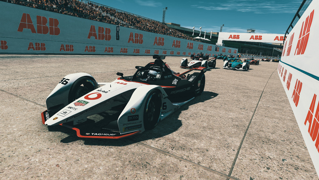 "ABB FIA Formula E Championship 2019/2020, round five of the ""Race at Home Challenge"""