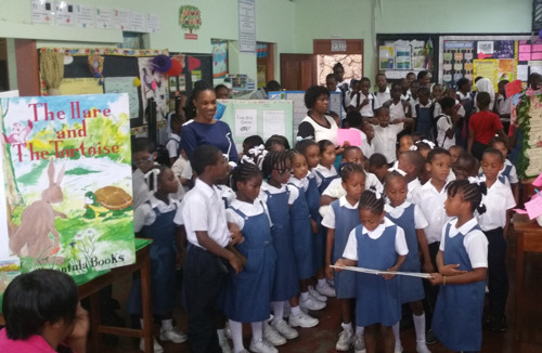 St. George's Seventh Day Adventist School in Grenada drives innovation in reading through schoolwide book fair!