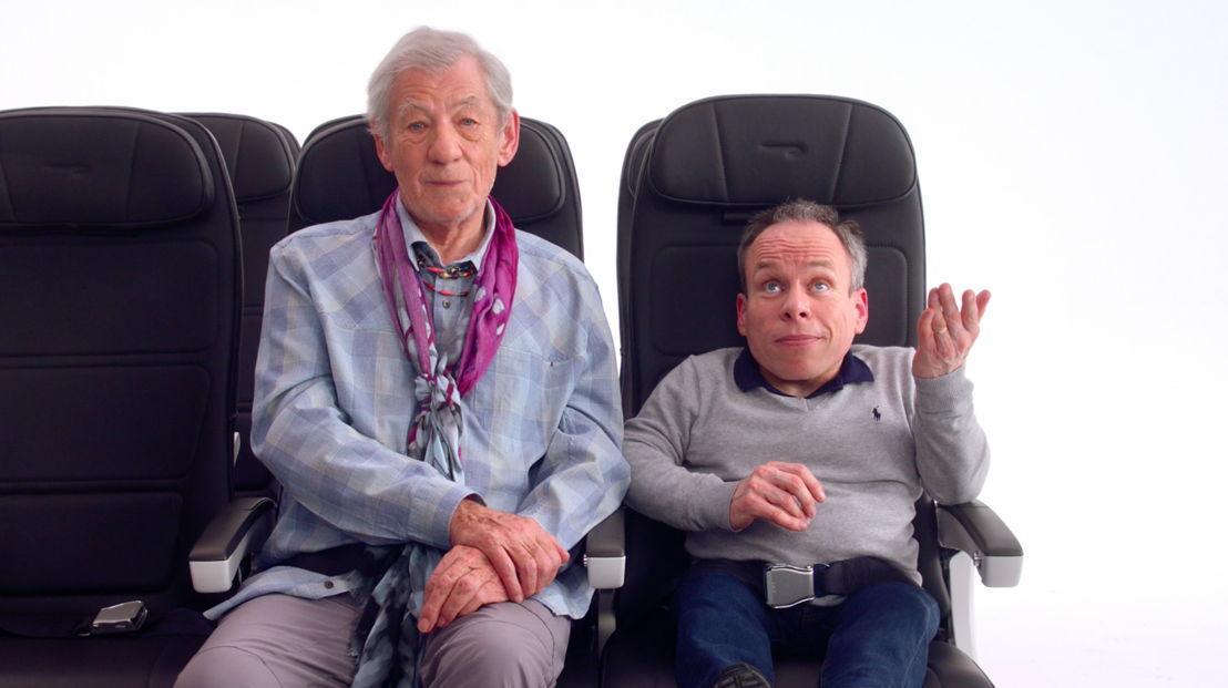 Sir Ian McKellen & Warwick Davis 2