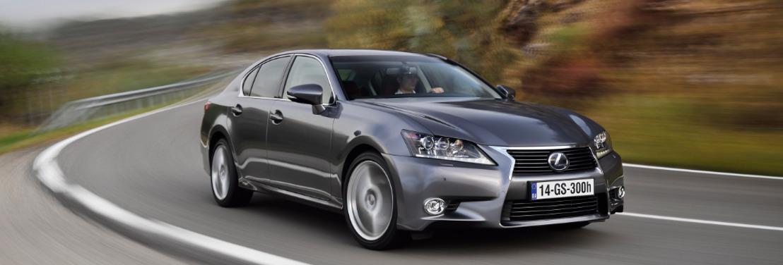 De nieuwe Lexus GS 300h