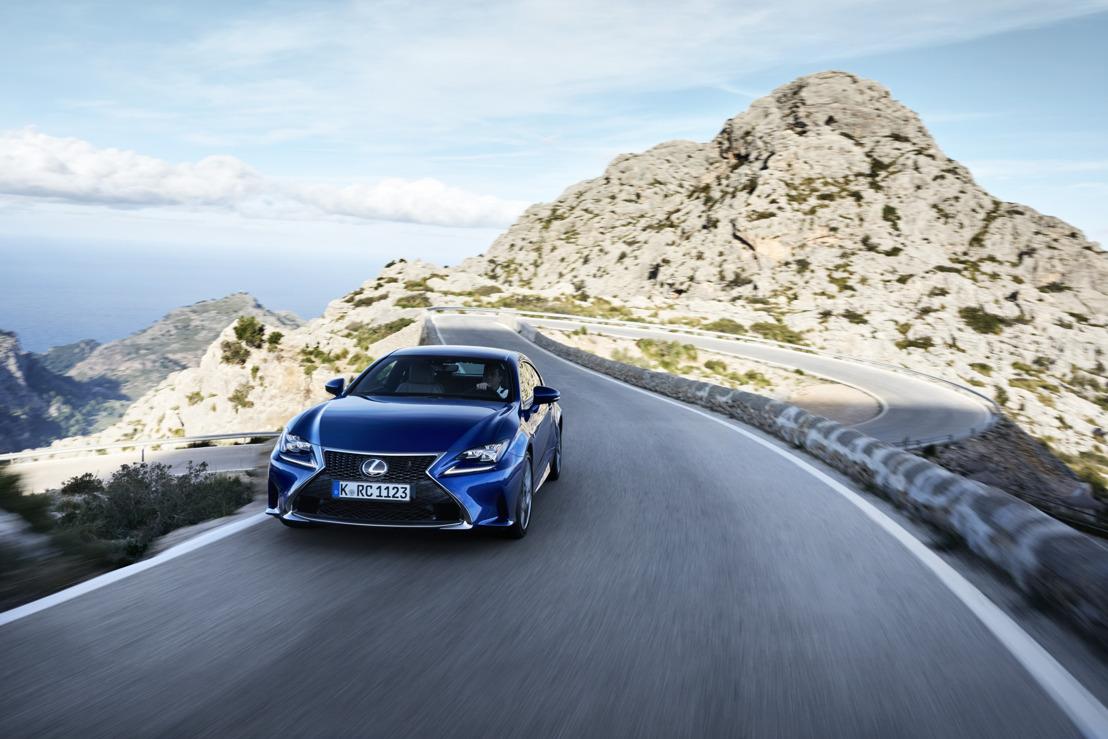 De nieuwe prestigecoupé Lexus RC: spectaculair design en geraffineerd rijplezier