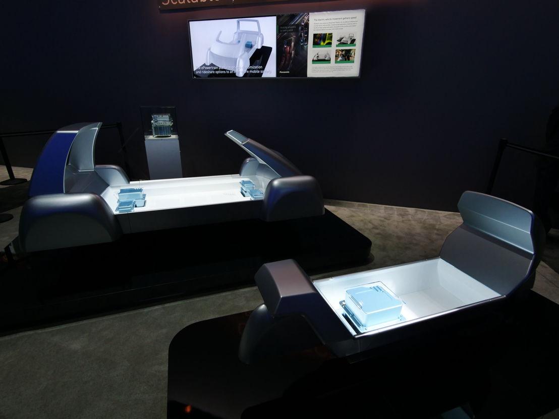 Panasonic ePowerTrain, tren motriz para EVs