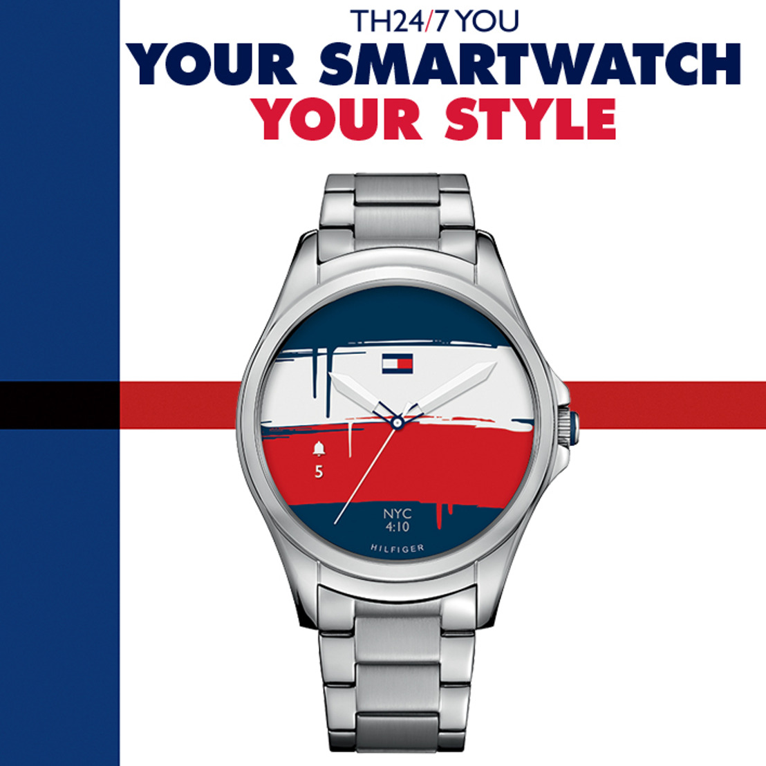 Tommy Hilfiger TH24/7 YOU: tu smartwatch, tu estilo