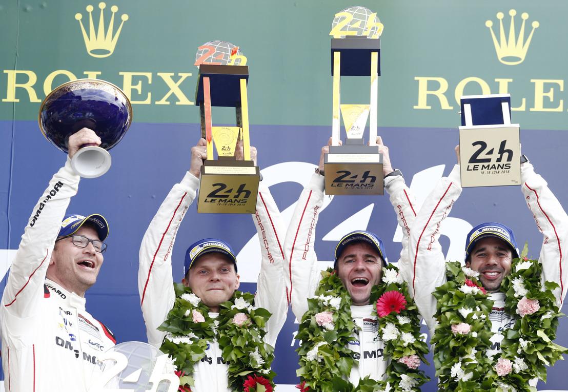 24 Heures du Mans: 18e victoire pour Porsche au terme d'un thriller hollywoodien !