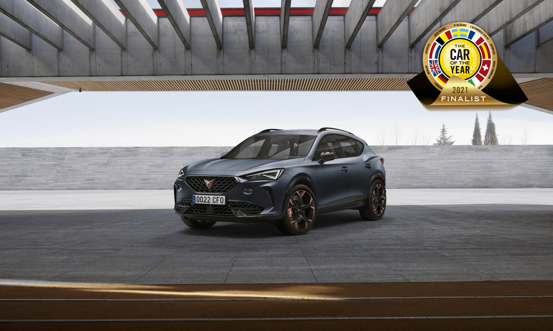 The CUPRA Formentor nominated as one of the seven finalists for prestigious Car of the Year 2021 award