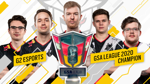 G2 ESPORTS CHAMPION DER GSA LEAGUE 2020