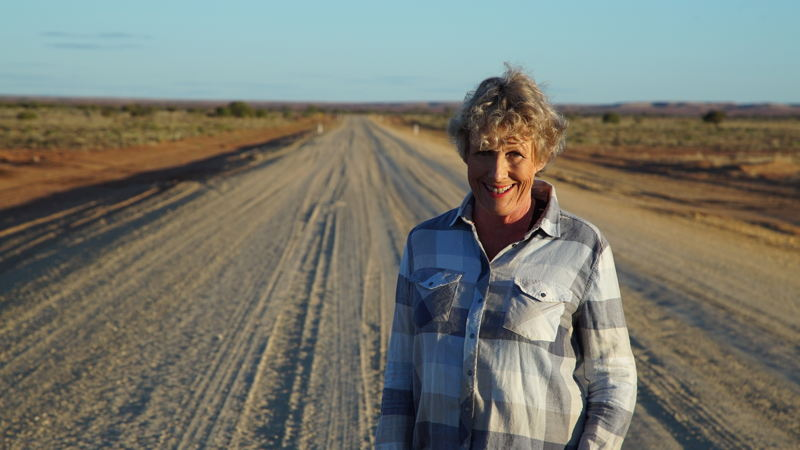 Heather - Oodnadatta Track, South Australia