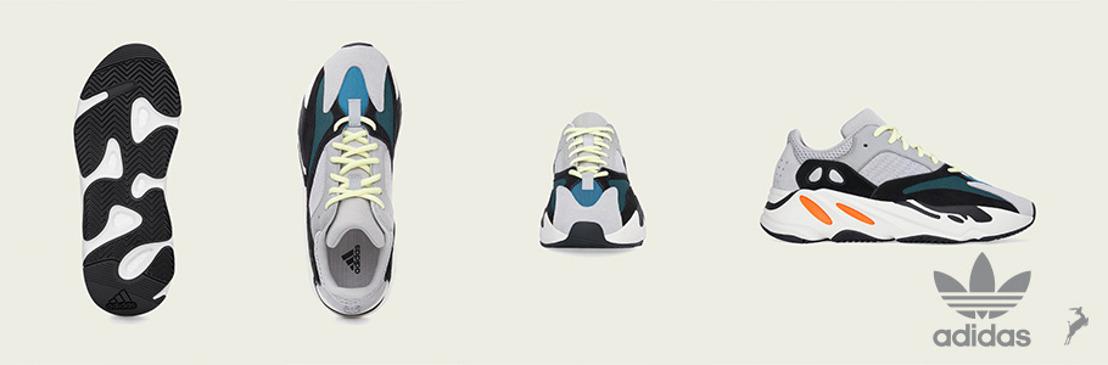 adidas Originals + KANYE WEST anuncian el regreso de YEEZY BOOST 700
