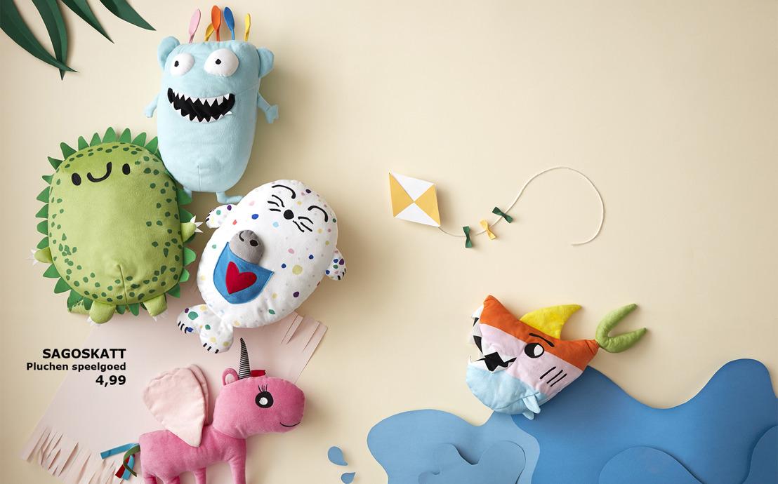 IKEA lanceert SAGOSKATT, knuffelbare vriendjes die tot de verbeelding spreken
