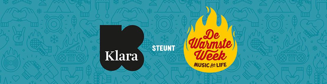 Klara verkoopt tijdens De Warmste Week kerstmuziek ten voordele van vzw Music Fund