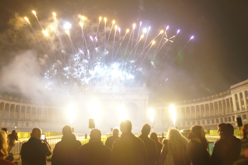 A first in Belgium: GAIA organises the first, official, animal-friendly low noise fireworks display