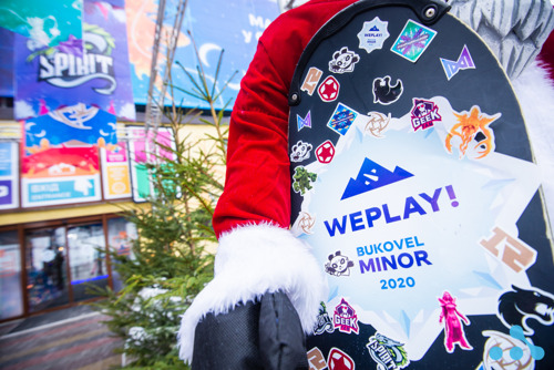 Фотоотчет WePlay! Bukovel Minor 2020