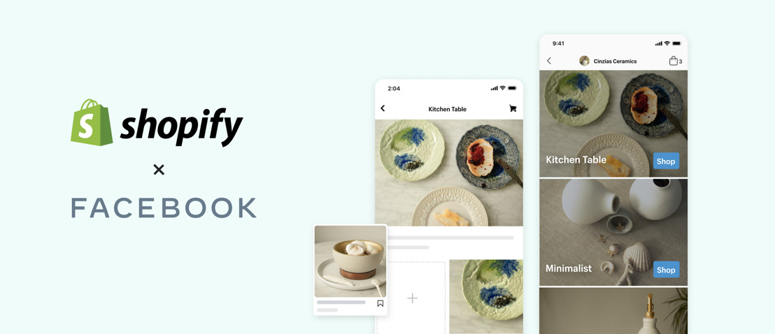 Shopify partners with Facebook to help businesses launch branded Facebook Shops