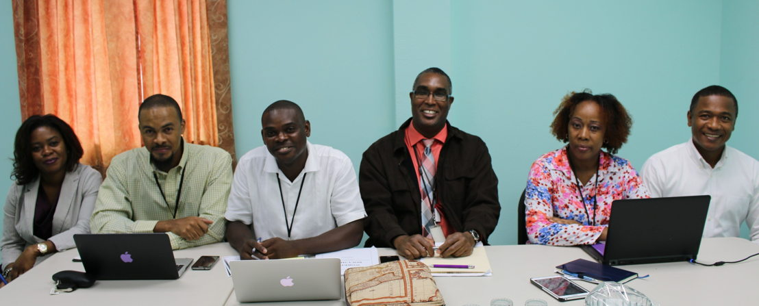 Representatives from the OECS Commission at the 19th Meeting of the OECS Working Group on Movement of People.
