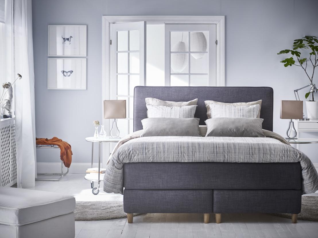 Nouvelle série de lits boxspring pour un sommeil réparateur