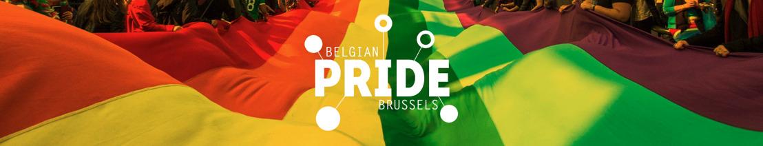 Belgian Pride gaat dit jaar helemaal digitaal: kleur je stoep in de regenboogkleuren op 22 mei