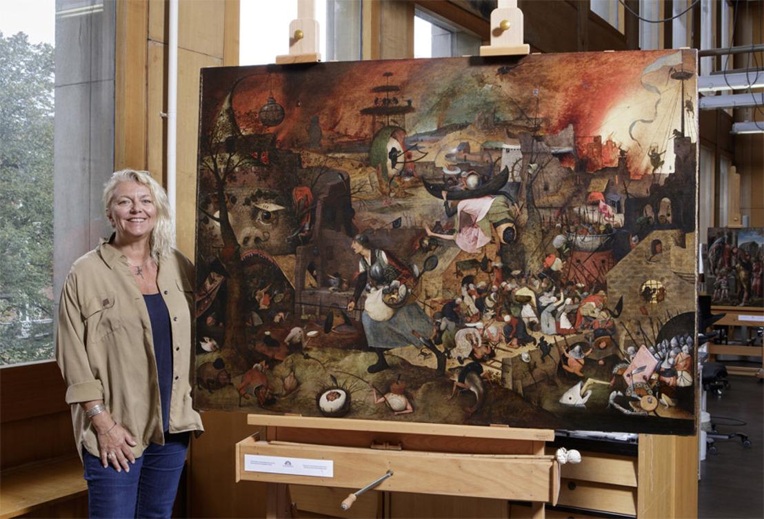 La restauration du panneau Margot l'Enragée révèle une palette inouïe et livre ses secrets