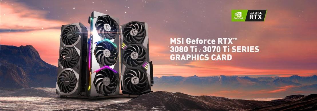 MSI kündigt neue Custom-Grafikkarten aus der GeForce RTX 30er-Serie an