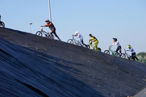 Technisch parcours voor mountainbike en cyclocross in Provinciaal sportcentrum Puyenbroeck