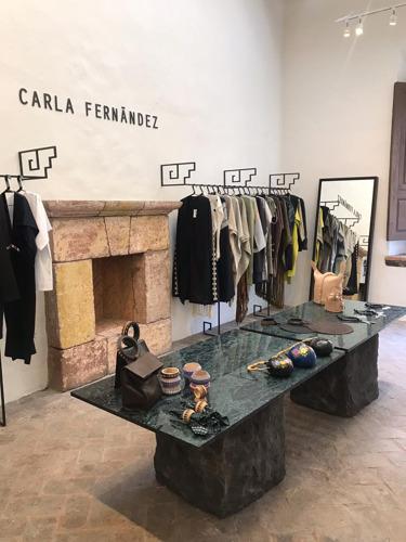 San Miguel de Allende es el tradicional escenario para la nueva tienda de Carla Fernández