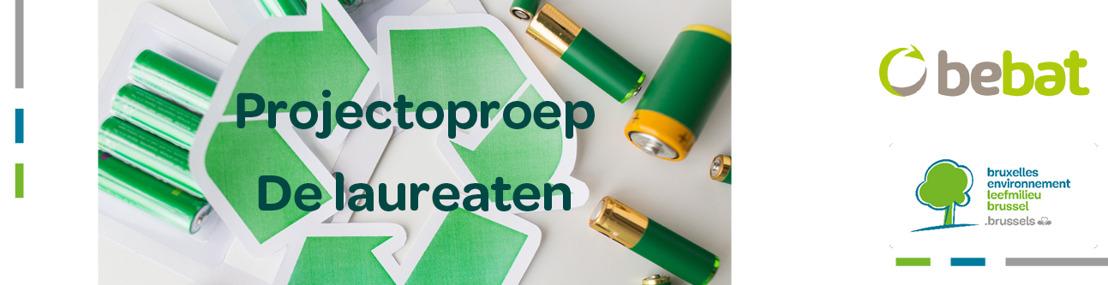 Leefmilieu Brussel en Bebat maken winnende innovatieve projecten rond hergebruik batterijen bekend