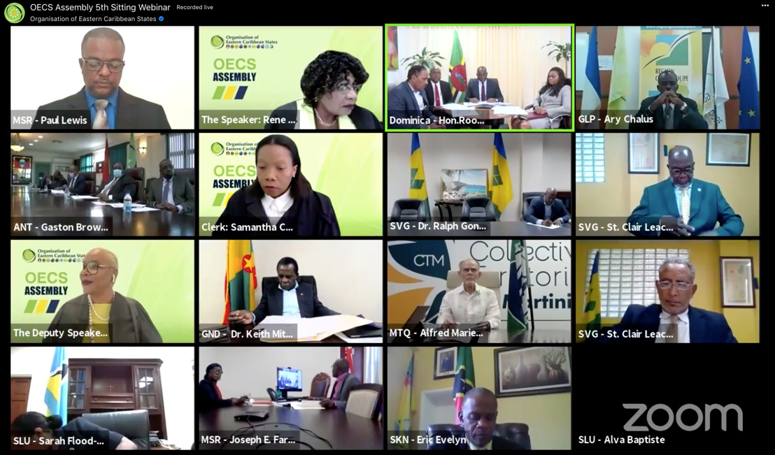 The WHO and IMF addressed OECS Fifth Assembly