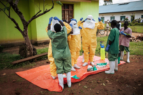 The latest update on the Ebola outbreak in the Democratic Republic of Congo (DRC)