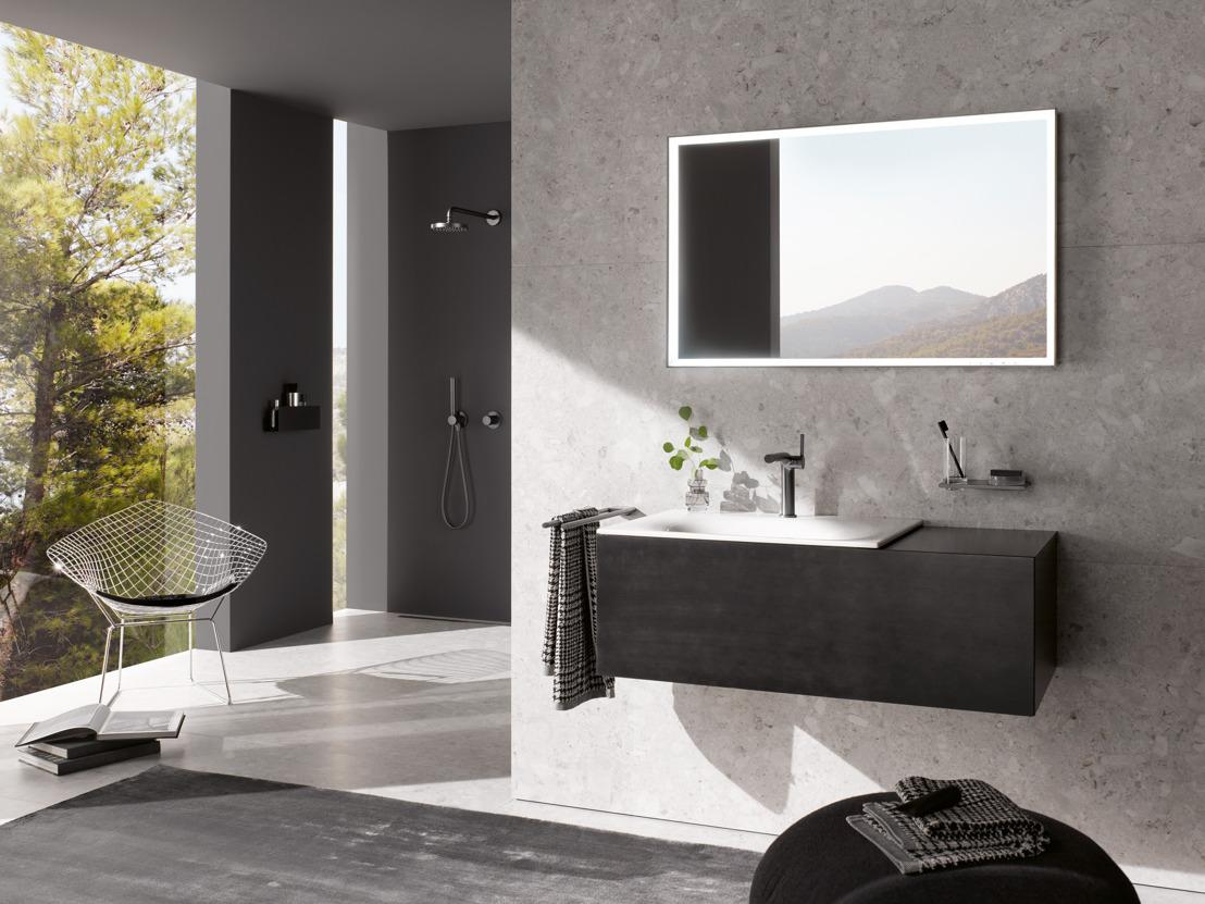 En 2020, le luxe s'invite dans la salle de bains avec le nouveau Black Concept de KEUCO