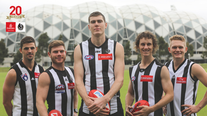 Emirates and Collingwood Football Club renew longstanding partnership