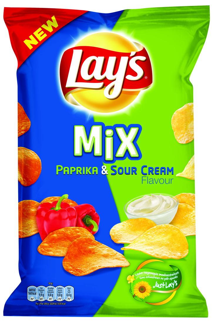 Lay's Mix Paprika & Sour Cream