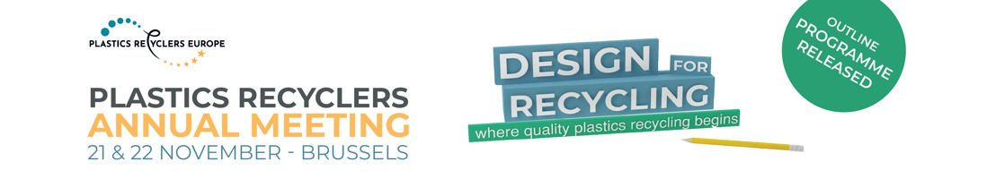 Outline programme released for Plastics Recyclers Annual Meeting 2019