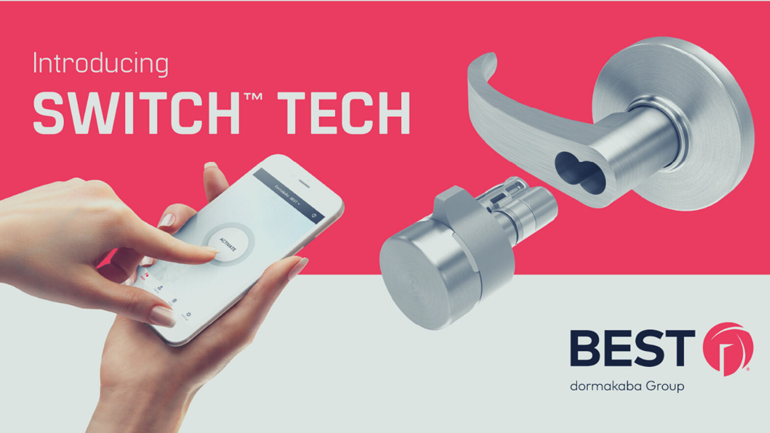 dormakaba SwitchTM Tech reimagines access control at the core