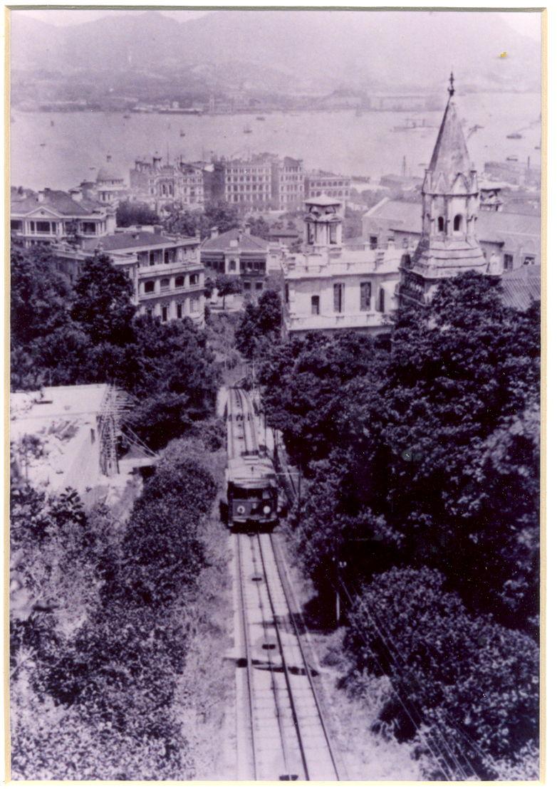 The Peak Tram first generation, 1888