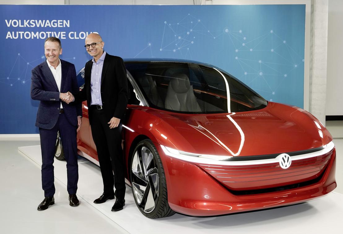 Volkswagen y Microsoft comparten el avance en su alianza estratégica