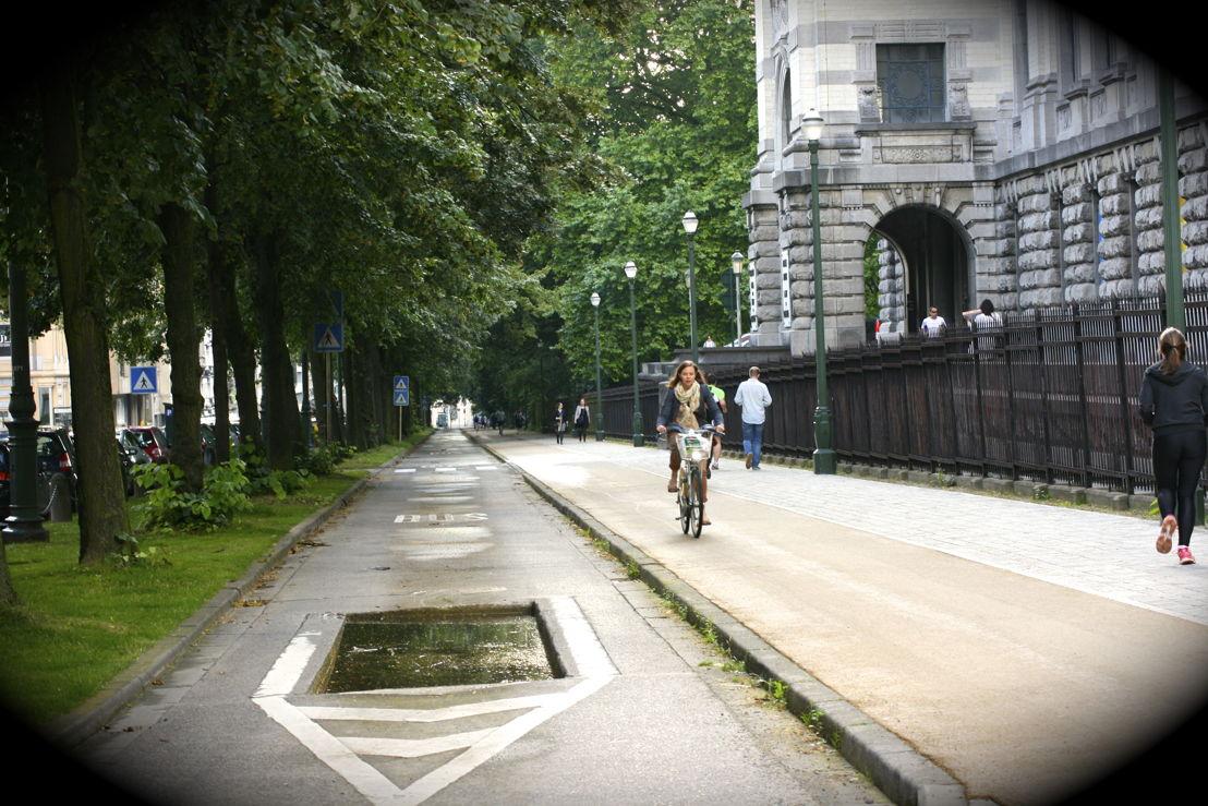 Pistes cyclables Avenue des Nerviens