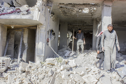 Syria: Booby-traps and landmines awaiting Raqqa's returning residents