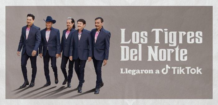 Los Tigres del Norte llegan a TikTok para festejar el mes más mexicano de todos