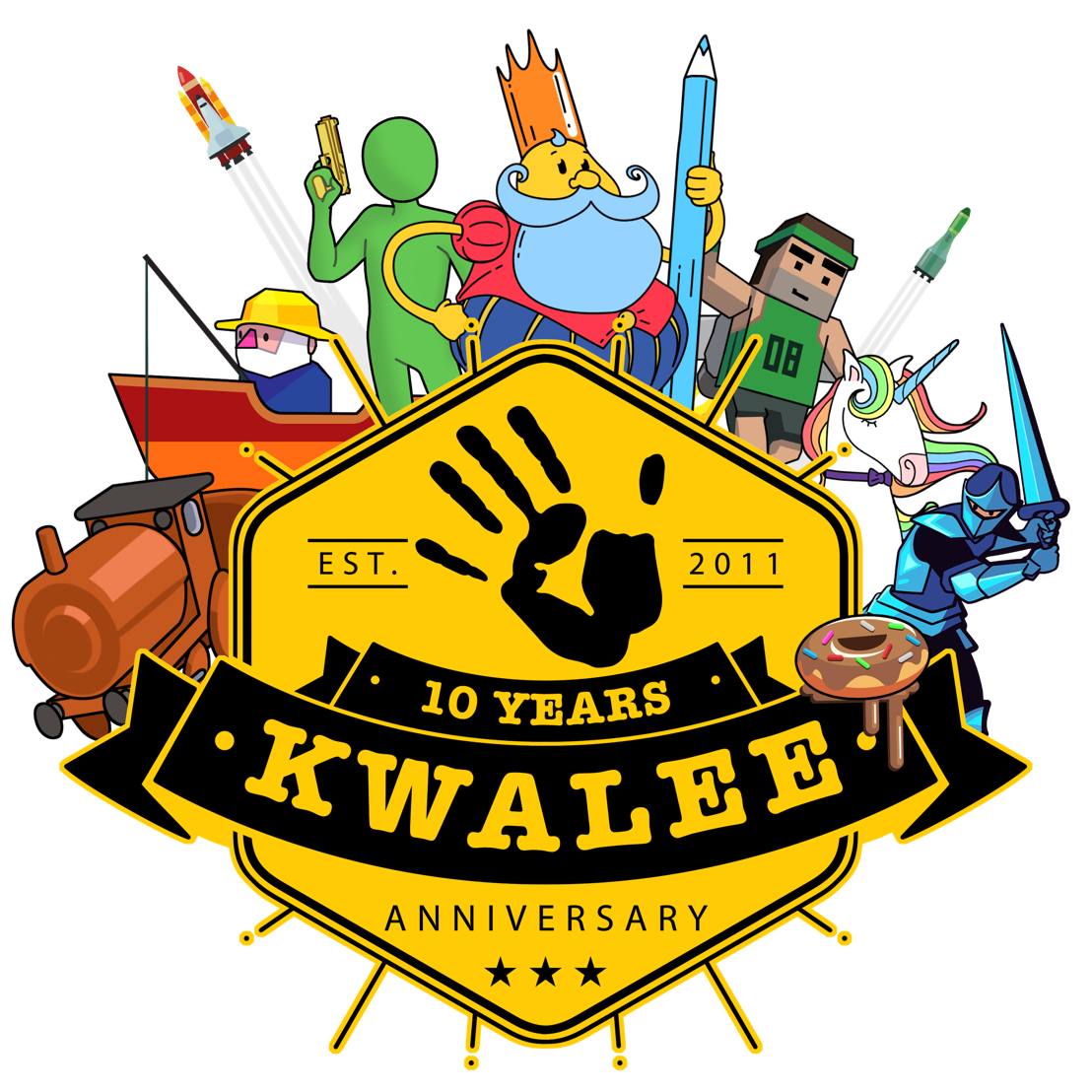 International games company marks 10 year anniversary with online celebration and big prizes for staff