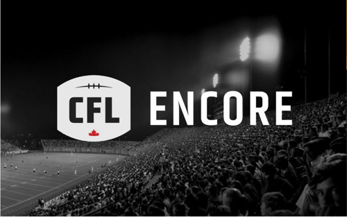 TSN AND CFL TEAM UP TO PRESENT CFL ENCORE FRIDAYS