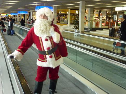 KLM's Happy Holidays vlucht