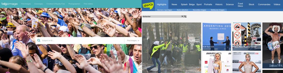 Belga Image et Isopix signent un accord de collaboration