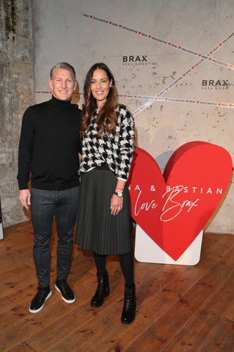 Preview: Ana and Bastian Schweinsteiger celebrate with BRAX