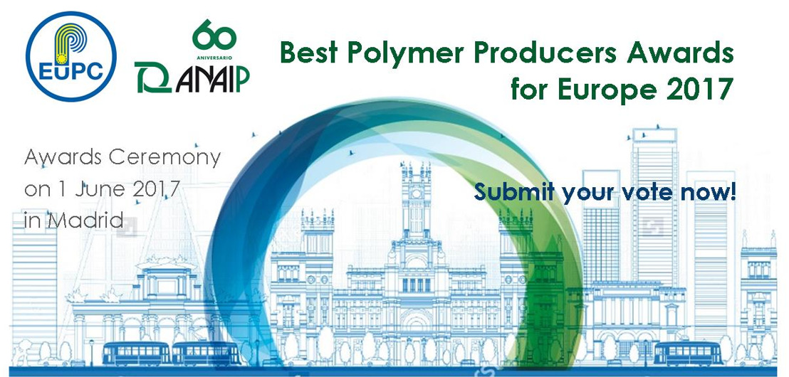 Rate your polymer suppliers for the 2017 Best Polymer Producers Awards for Europe