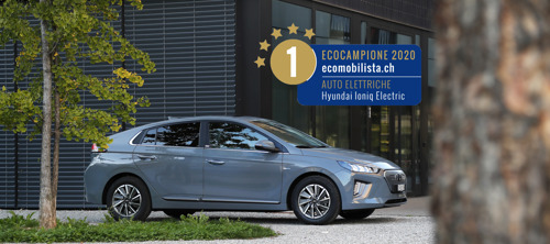 New Hyundai IONIQ electric è la miglior auto elettrica