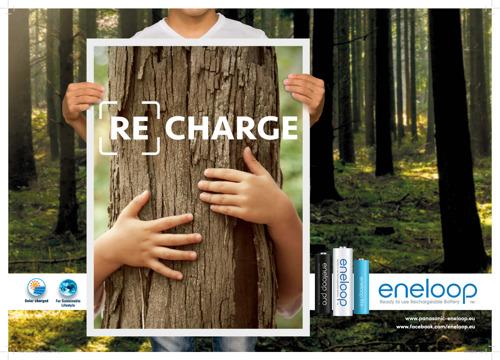 Dzięki nowym inicjatywom marka eneloop ma wciąż pozytywny wpływ na środowisko