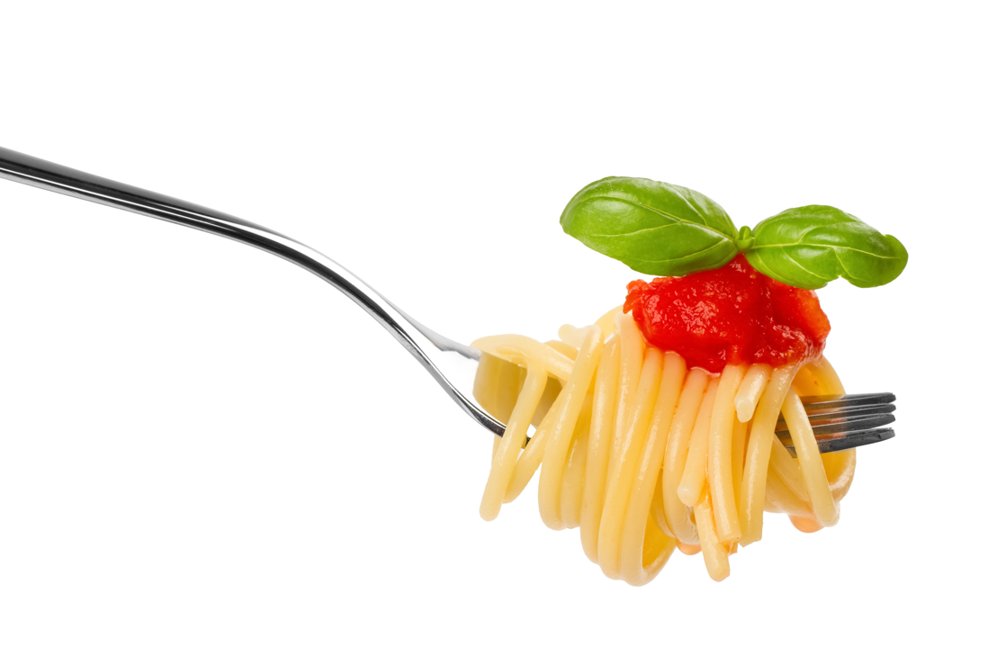 Forchetta spaghetti pomodoro