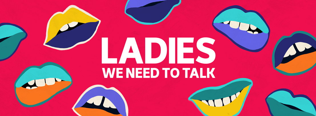 Ladies, We Need To Talk (Facebook Cover)