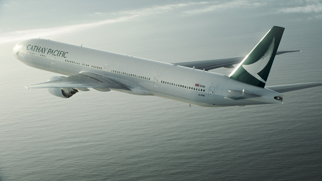Cathay Pacific Group Releases Combined Traffic Figures for April 2018