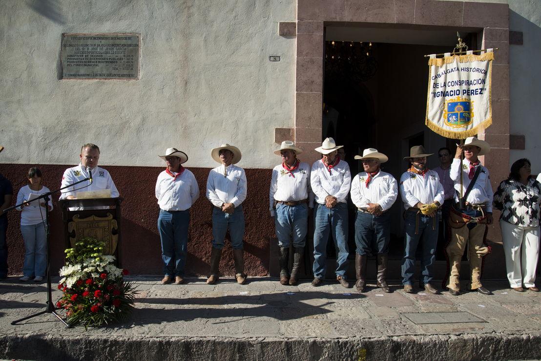 Presidente Municipal Ricardo Villarreal, Pablo Mere, Jorge Mere, Gerardo Urquiza, Jorge Cárdenas, Alejandro Mere, Pável Hernández y Jaime Obregón