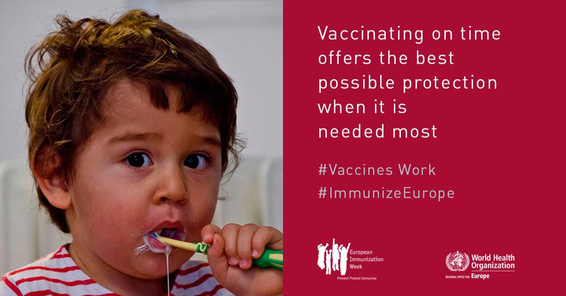 Persbericht: De Europese vaccinatieweek: het standpunt van de kinderartsen van het UKZKF
